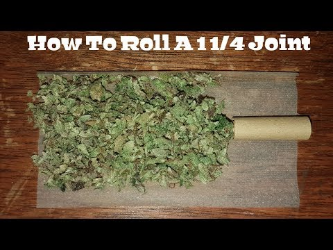 How To Roll A 1 1/4 Joint [Step By Step & Easy]