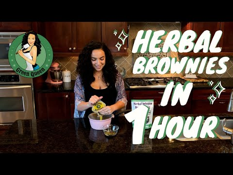 How To Make Strong Herbal Brownies In 1 Hour
