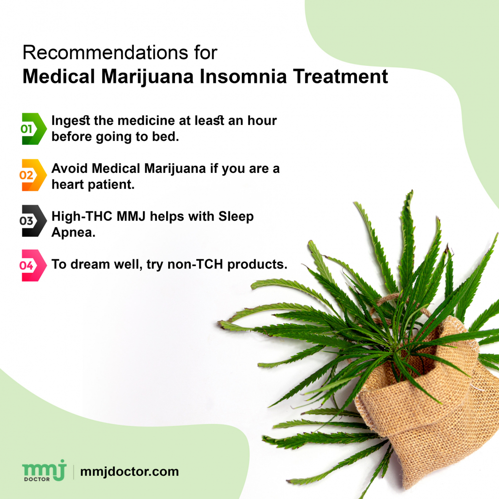 Recommendations for Treatment by Medical Marijuana