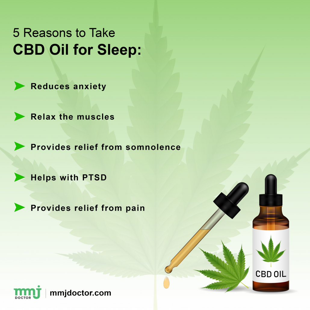 Reasons to use CBD oil for sleep