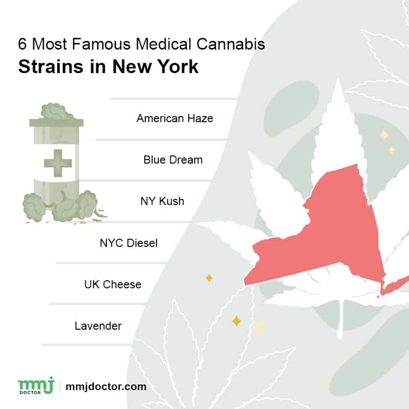 Famous strains in New York