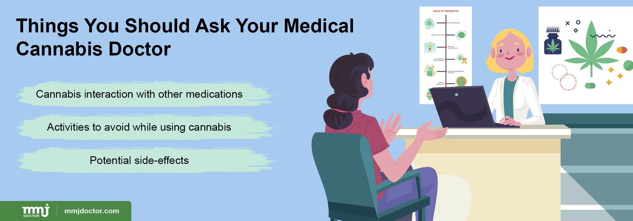 Things to ask cannabis doctor