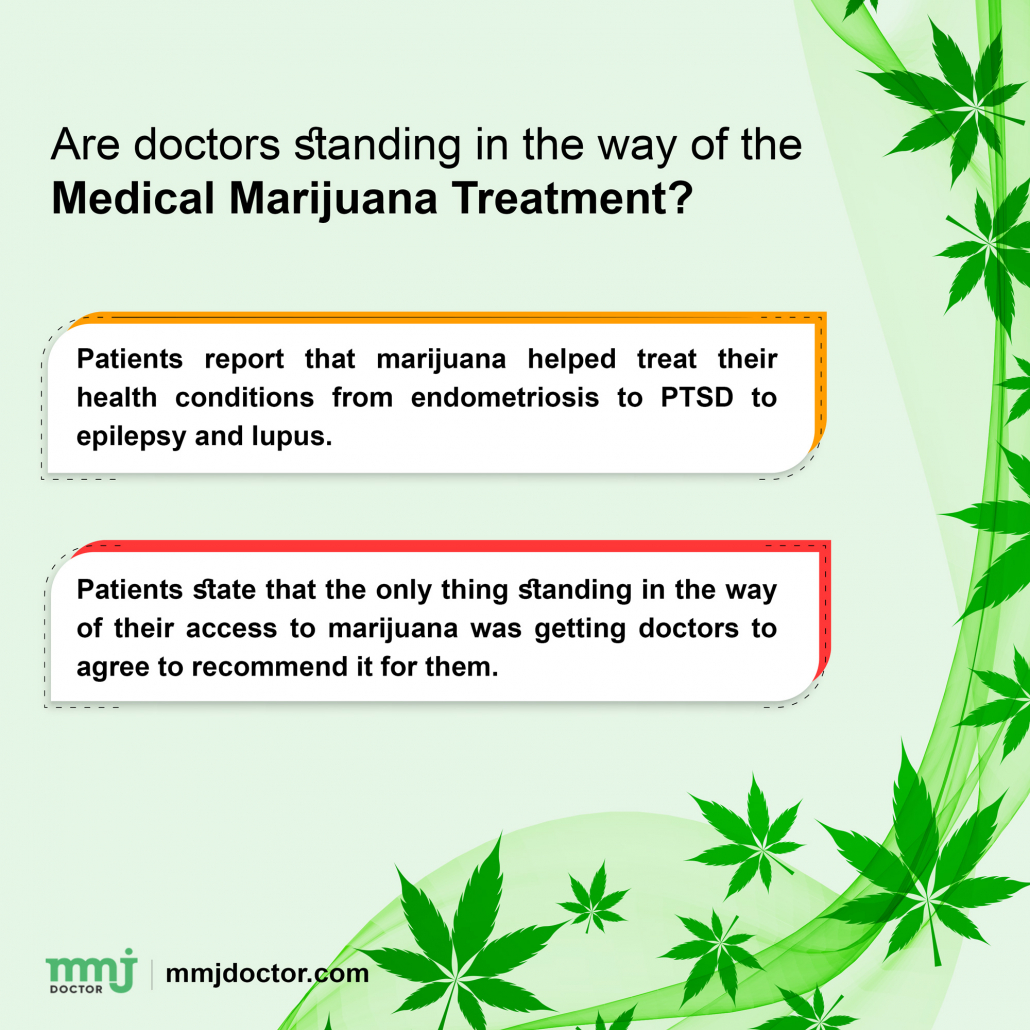 Doctors scared to prescribe marijuana