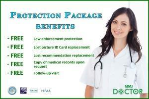 protection marijuana card