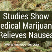 NAUSEA & MEDICAL MARIJUANA | MMJ DOCTOR ONLINE