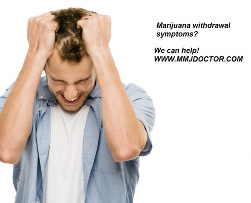 Withdrawal From Marijuana Leaves Users Markedly Ill mmj doctor online