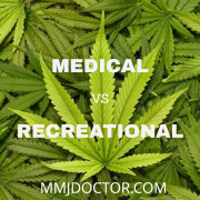 medical marijuana vs recreational marijuana