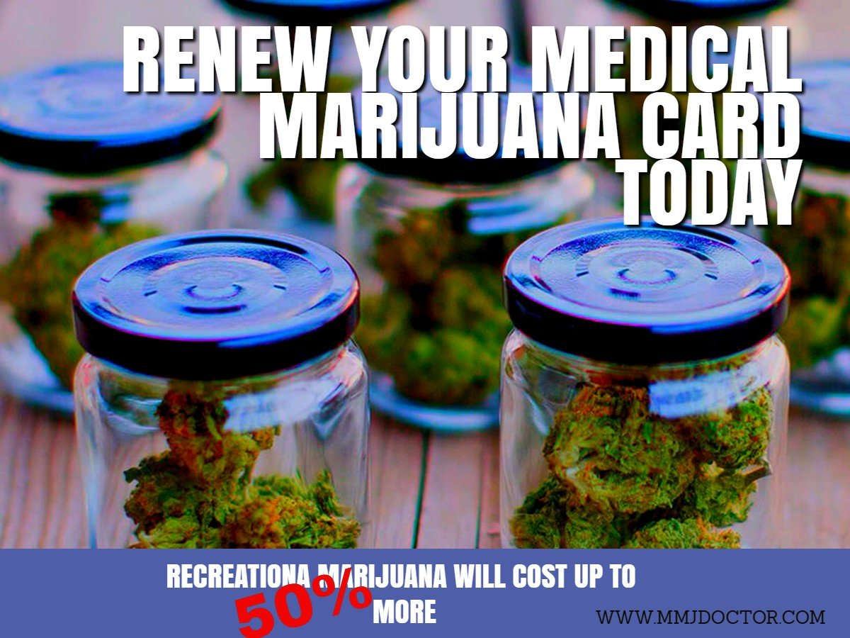 renew your MMJ CARD today