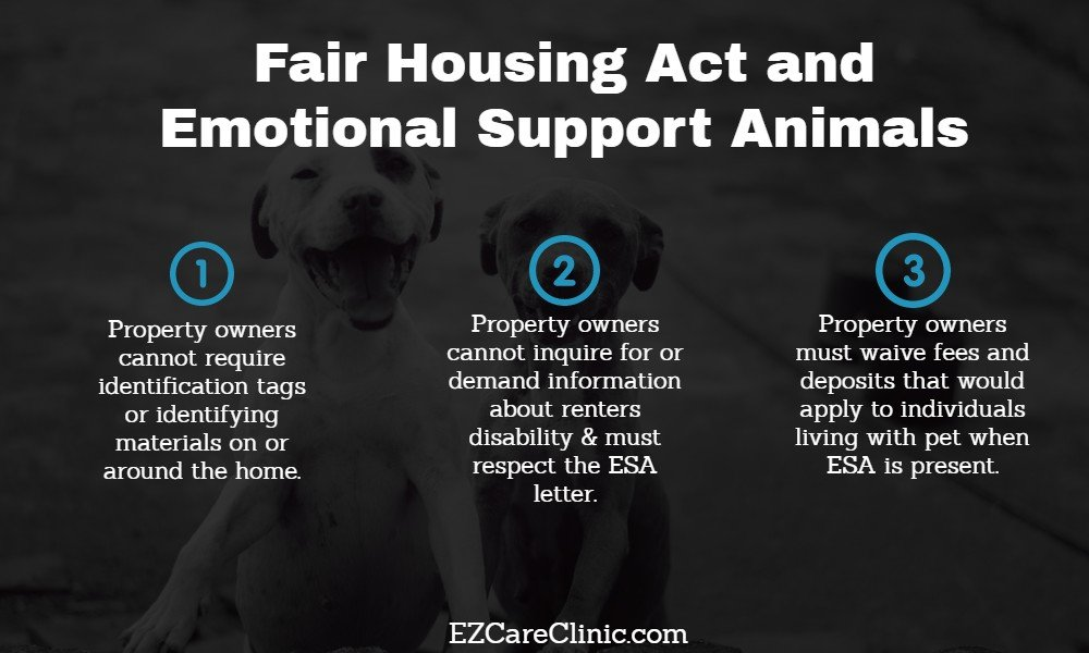 FHA and Emotional Support Animals