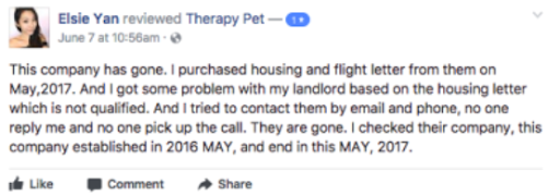 therapypet.org reviews
