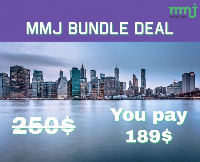 MMJ BUNDLE DEAL IN NEW YORK