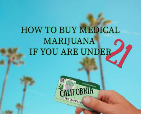 Buy Medical Marijuana if you are under 21
