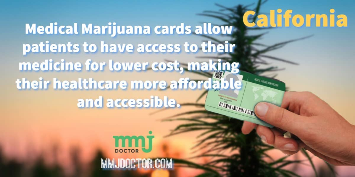 Why you need a medical marijuana card in California