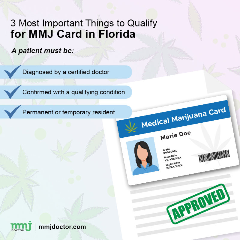 important things for mmj card