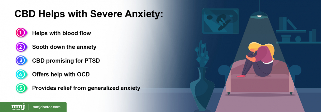 CBD and severe Anxiety