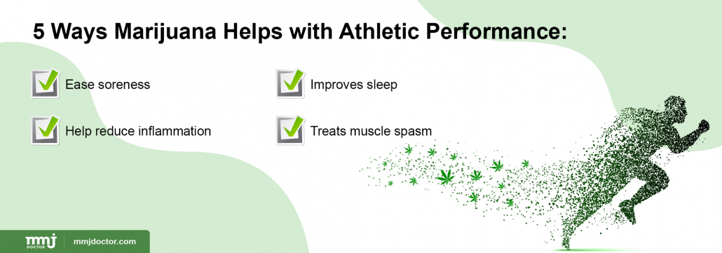 How marijuana helps athletes?