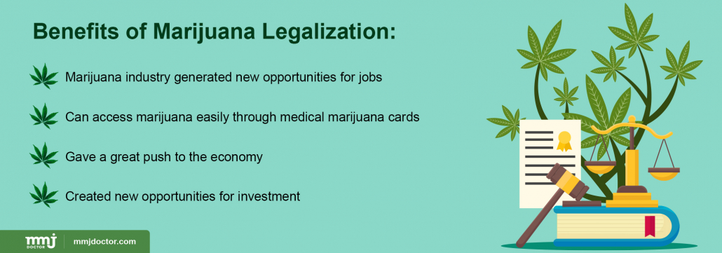 Marijuana legalization benefits