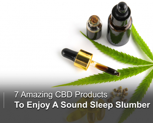 CBD products to enjoy good sleep