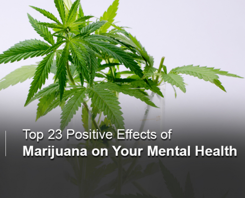Positive effects of marijuana on mental health