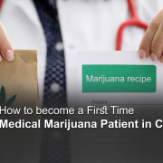 HOW TO BECOME A FIRST TIME MEDICAL MARIJUANA PATIENT IN CALIFORNIA?