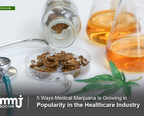 Popularity of marijuana