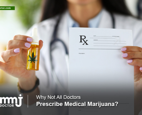 Doctors don't prescribe marijuana