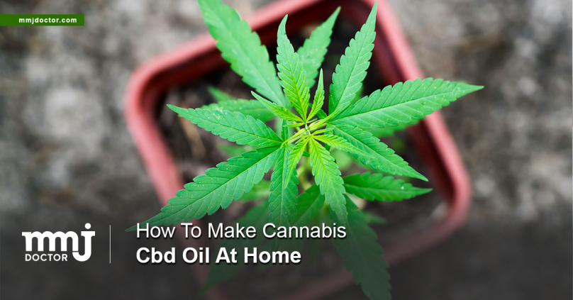 HOW TO MAKE CANNABIS CBD OIL AT HOME