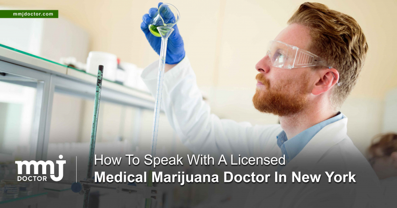 How To Speak With A Licensed Medical Marijuana Doctor In New York