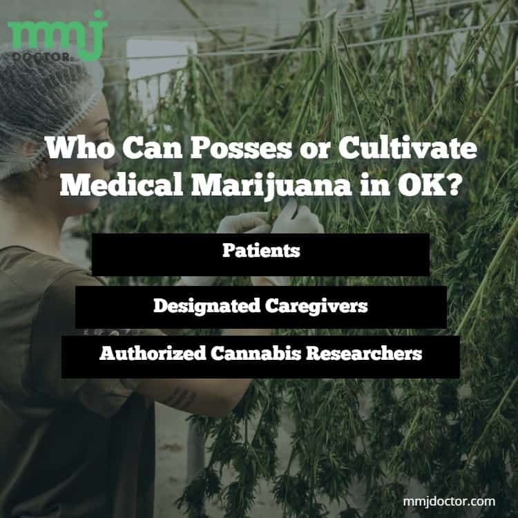 Possessing or Cultivate Medical Marijuana in OK